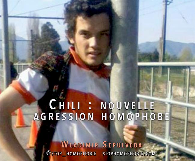 Chili : nouvelle agression homophobe - Wladimir Sepulveda