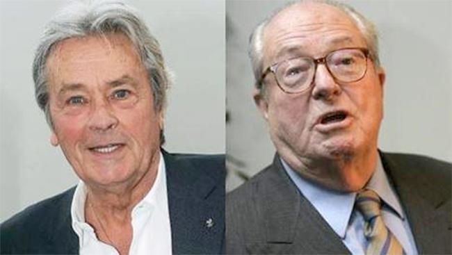 Alain Delon approuve la place du Front National et s'oppose à l'adoption pour les homos