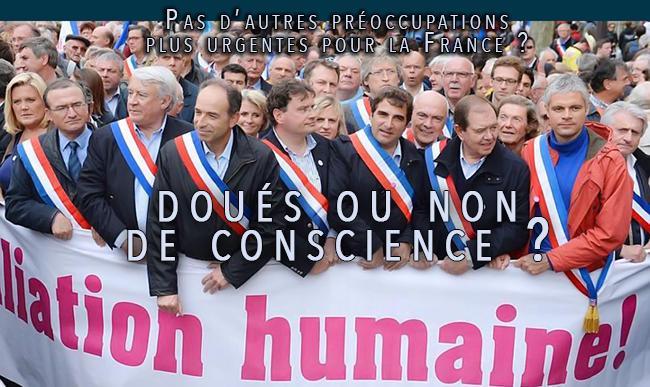 Mariage gay : l'UMP pour la liberté de conscience des élus