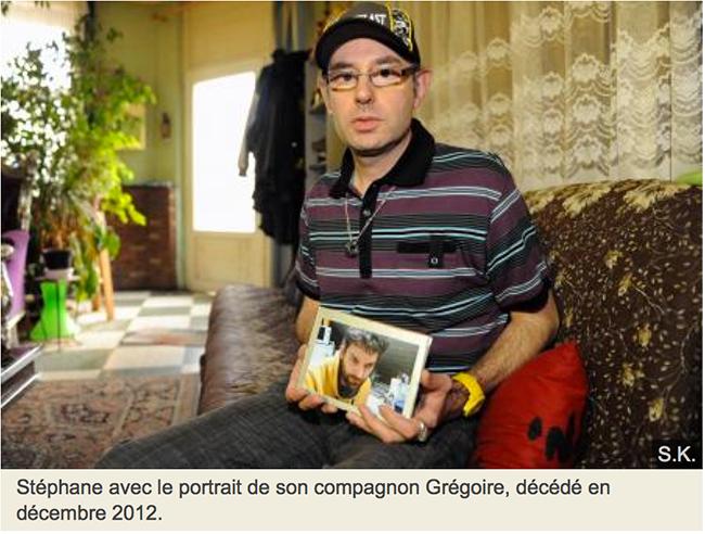 «Sale pédé», «Tu vas crever»...: le voisin du dessous a insulté pendant près de deux ans Grégoire, atteint d'un cancer et à l'article de la mort