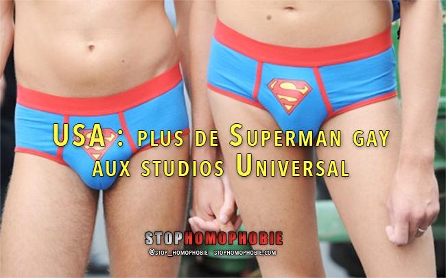USA : plus de Superman gay aux studios Universal