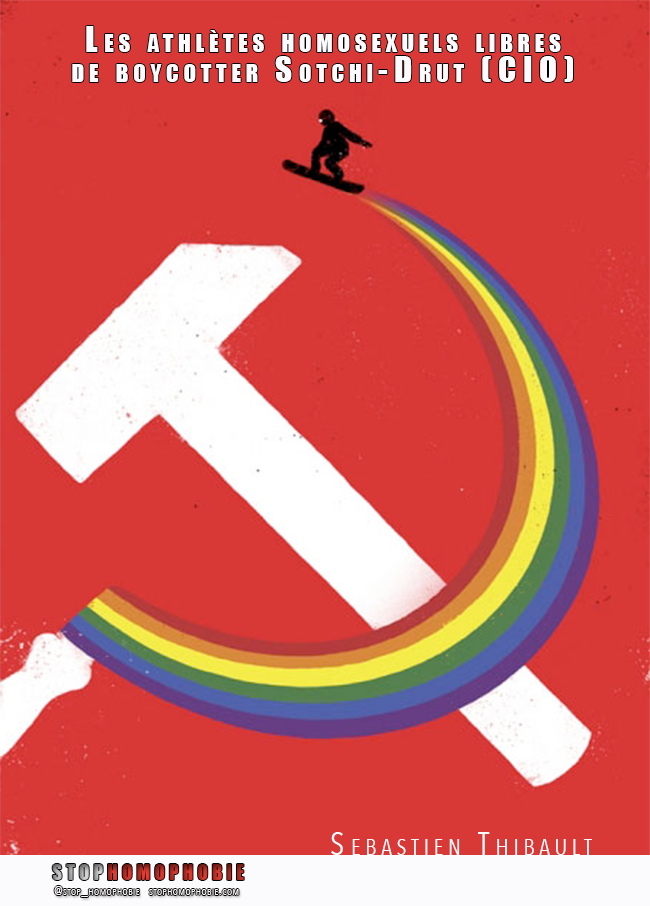 Les athlètes homosexuels libres de boycotter Sotchi-Drut (CIO)