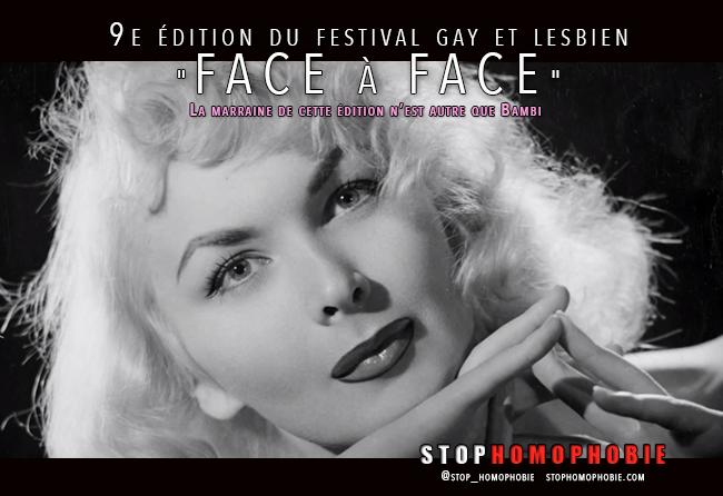 """9e édition du #festival #gay et #lesbien """"FACE à FACE"""""""