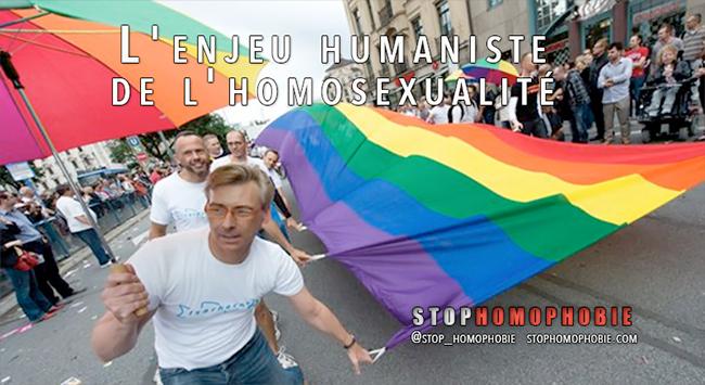 L'enjeu humaniste de l'homosexualité
