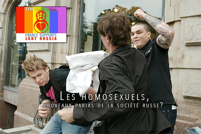 Les #homosexuels, nouveaux parias de la société #russe?