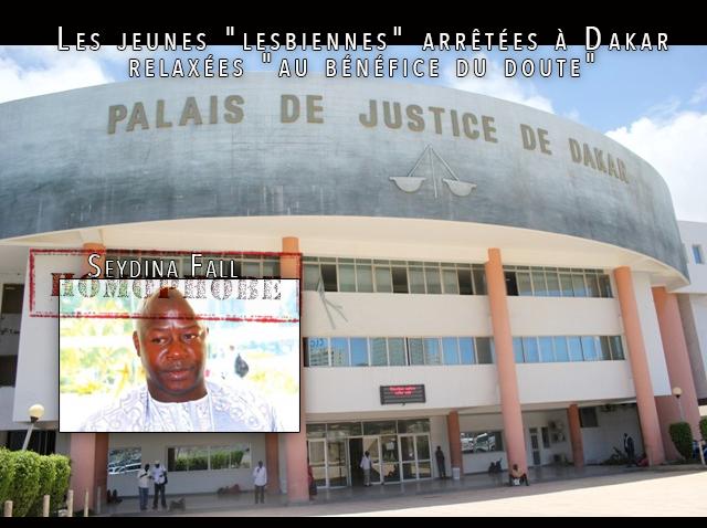 """Les jeunes """"#lesbiennes"""" arrêtées à #Dakar pour """"actes contre nature"""" ont été #relaxées """"au bénéfice du doute"""""""