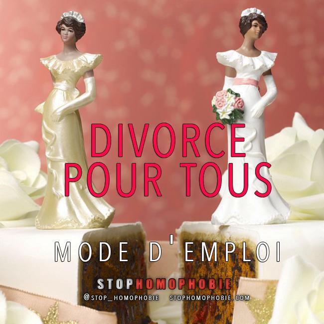 Mariage et divorce pour tous : mode d'emploi