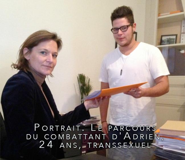 #Rouen - #Portrait. Le parcours du combattant d'Adrien, 24 ans, #transsexuel