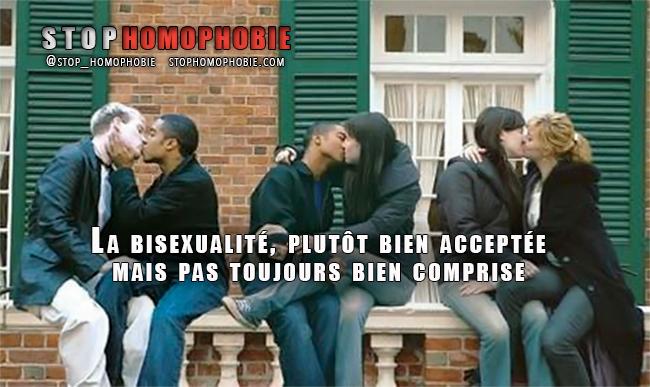 """Près de 15% des gens déclarent que la bisexualité est """"une orientation non légitime"""""""