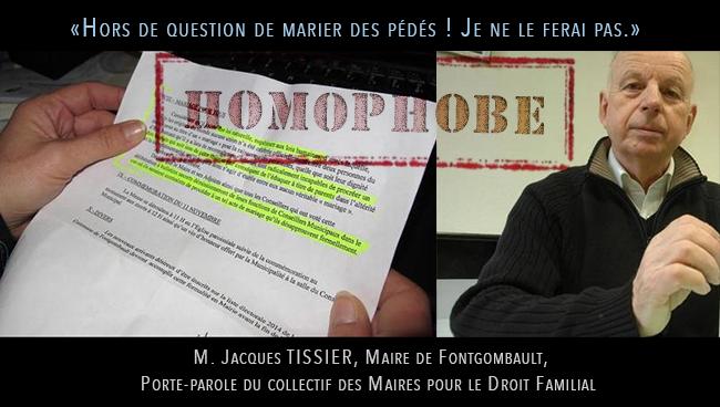 """A Fontgombault, on évoque """"la loi naturelle"""" et met en avant des convictions religieuses pour refuser les mariages gays"""