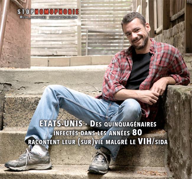 ETATS-UNIS - Des quinquagénaires infectés dans les années 80 racontent leur (sur)vie malgré le VIH/sida