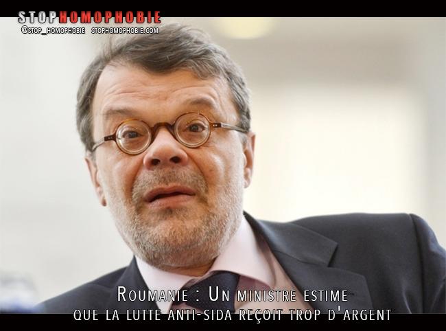 """Roumanie : Quand un ministre estime que le budget alloué à la lutte contre le sida est """"trop important"""""""