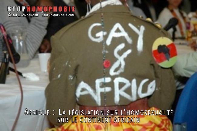 #Afrique : La #législation sur l'#homosexualité sur le continent africain