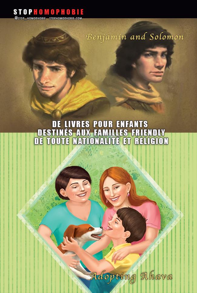 """#Livres et contes de fées """"destinés aux #familles #gays et #lesbiennes de toute nationalité et #religion"""""""