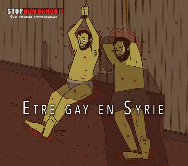 Etre gay en Syrie