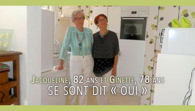 Mariage #gay : Jacqueline, 82 ans et Ginette, 78 ans se sont dit « oui »