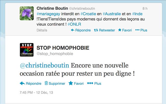 Criminalisation de l'homosexualité en Inde : Le gouvernement du pays regrette, Christine Boutin exulte !