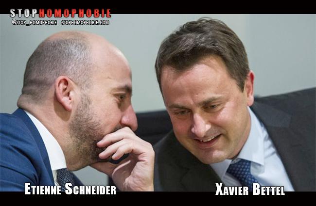 Deux responsables #politiques, ouvertement #homosexuels, à la tête du #gouvernement #luxembourgeois.