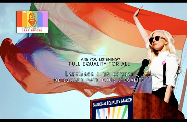 #LadyGaga : un bras de fer avec la #Russie, mais un combat de longue date #contre l'#homophobie