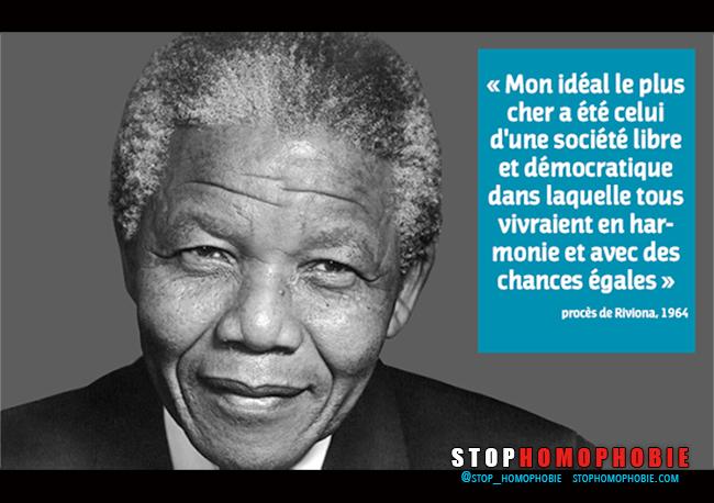 Nelson #Mandela, une vie de combat pour l'égalité.