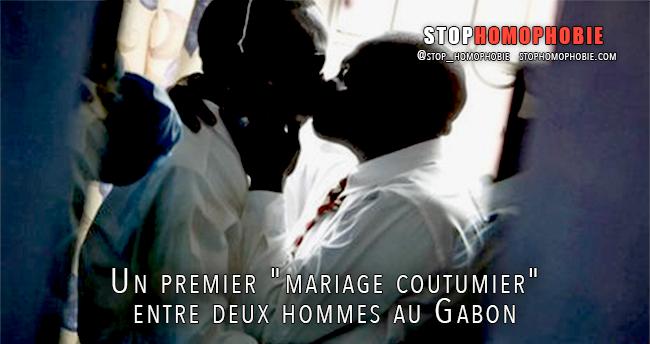 Un premier « mariage coutumier » entre deux hommes au Gabon aurait ...