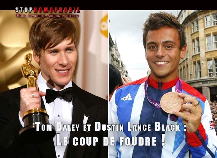 #Coming_Out : #TomDaley raconte son coup de foudre pour #Dustin_Lance_Black à la télévision