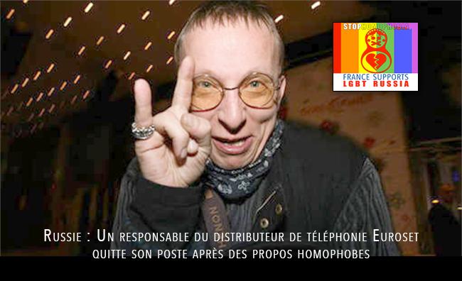 Ivan #Okhlobystine voulait voir les #homosexuels brûler vif dans des fours. Il quitte son poste suite à ses propos homophobes !