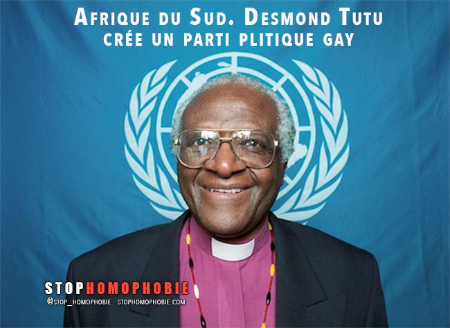 Afrique du Sud. Desmond Tutu crée un parti politique #gay