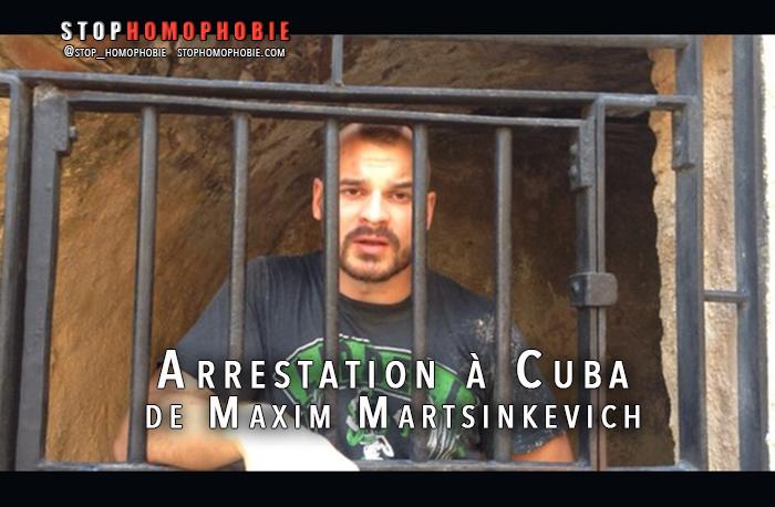 Arrestation à Cuba de Maxim Martsinkevich,  leader du groupe extrémiste et homophobe russe « Occupy Pedophile »