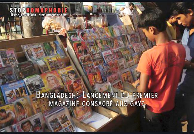 Asie : Lancement du premier magazine consacré aux gays au Bangladesh