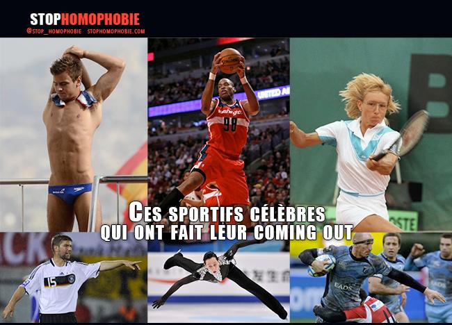 TABOU – Ces sportifs célèbres qui ont fait leur coming out