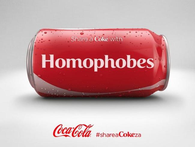 Partagez un @CocaCola, sauf si vous êtes gay !