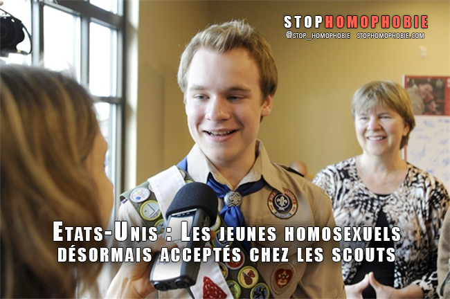 Etats-Unis : Les jeunes #homosexuels désormais acceptés chez les #scouts