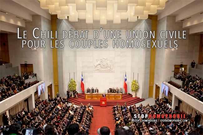 Le #Chili débat d'une union civile pour les couples #homosexuels