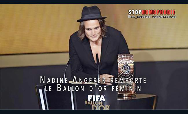 SPORT : Quand l'Allemande Nadine Angerer remporte le Ballon d'or féminin