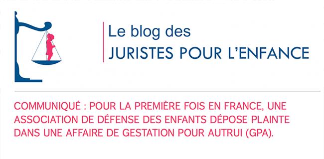 Première plainte en France dans une affaire de GPA