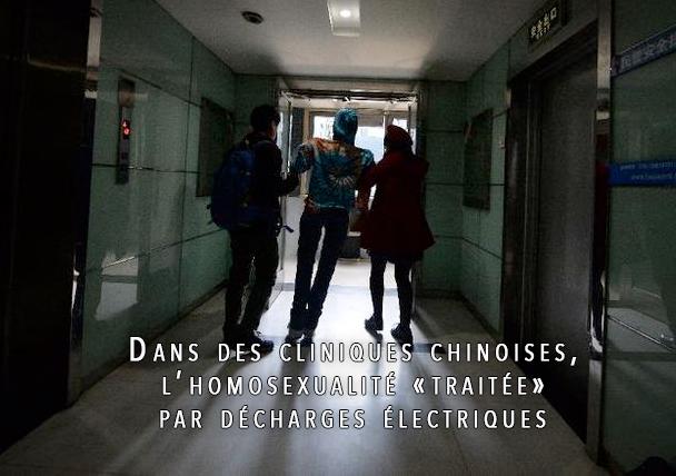 Dans des cliniques chinoises, l'homosexualité «traitée» par décharges électriques