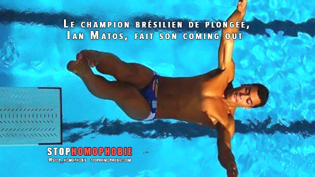 #Vidéo : Le champion brésilien de plongée, Ian Matos, fait son coming out