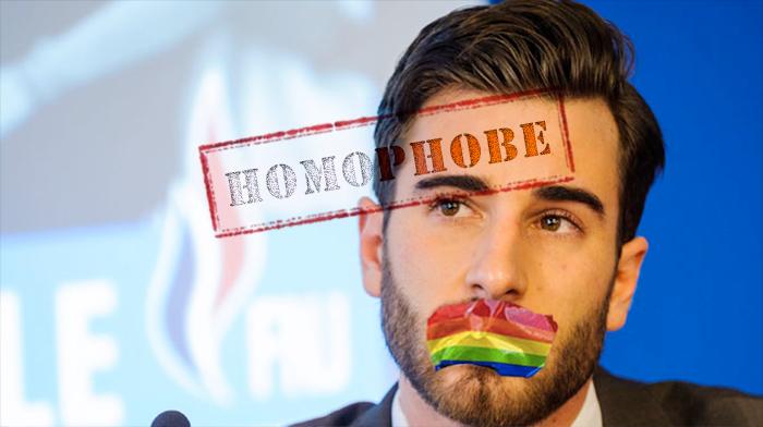 """Le directeur des jeunes du #FN favorable à une interdiction de la """"propagande #gay"""" comme en #Russie"""