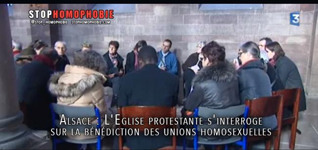Alsace : L'Eglise protestante s'interroge sur la bénédiction des unions homosexuelles