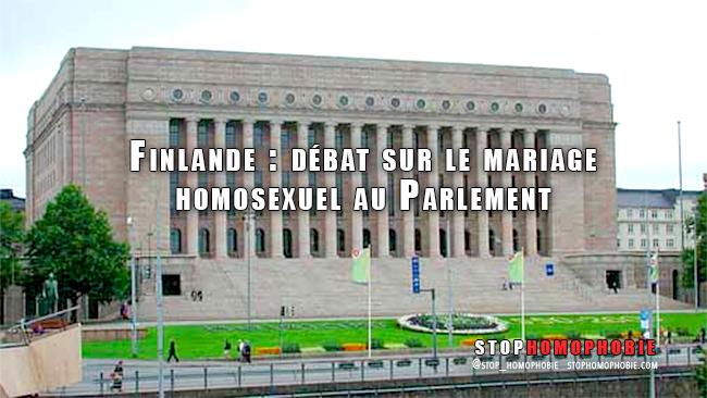 #Finlande : Vif débat sur le mariage #homosexuel au Parlement