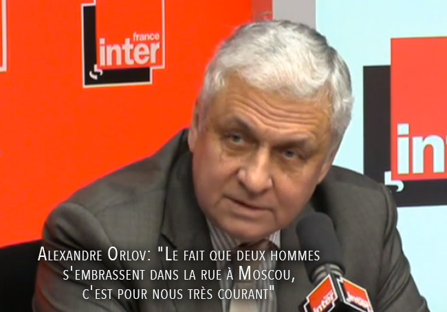 """L'ambassadeur de #Russie en #France embellit #Sotchi : """"Les homosexuels ne sont pas discriminés..."""""""