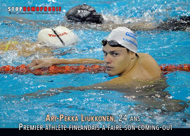Ari-Pekka Liukkonen, 24 ans : Premier athlète finlandais à faire son coming-out