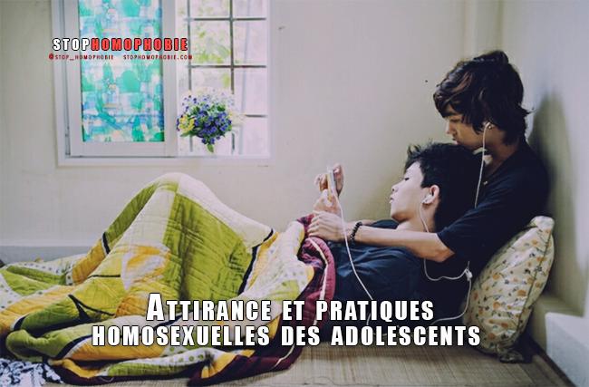 CNRS de Lyon : Attirance et pratiques homosexuelles des adolescents