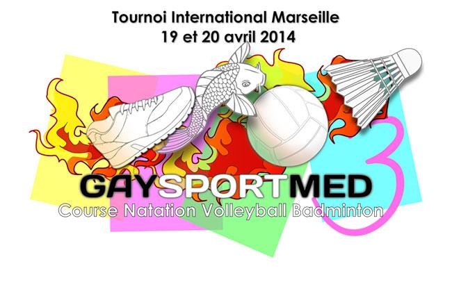 GaySportMed 3 - tournoi Gay Multisport : Du Samedi 19 Avril 2014 au Dimanche 20 Avril 2014