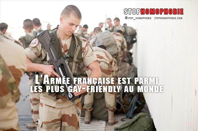L'armée française parmi les plus tolérantes au monde envers les personnes LGBT