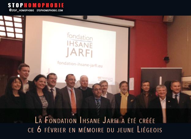LIÈGE : Une fondation Ihsane Jarfi pour lutter contre l'#homophobie