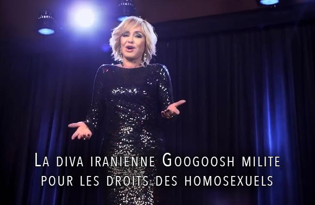 La #diva iranienne #Googoosh milite pour les droits des #homosexuels