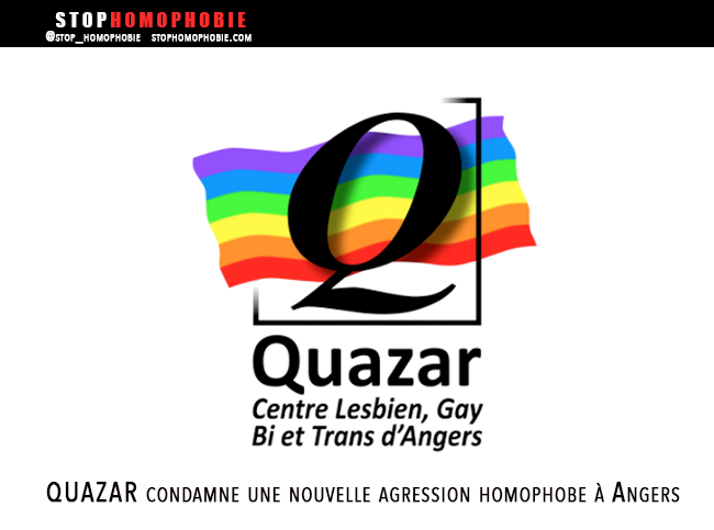 Guet-Apens et extorsion violente : L'association QUAZAR condamne une nouvelle agression homophobe à Angers