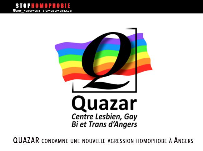 Guet-Apens et extorsion violente : L'association QUAZAR condamne une nouvelle agression homophobe à Angers